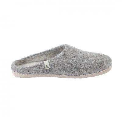 Slipper Natural Gray (L:25-27cm)