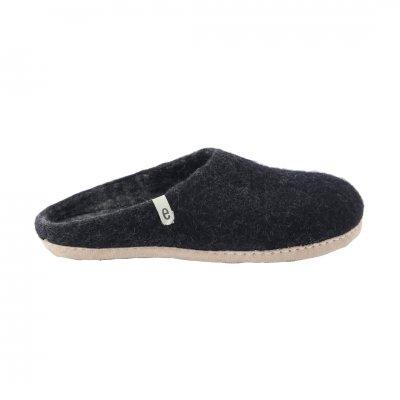 Slipper Black (L:25-27cm)