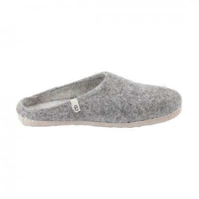 egos (イゴス) Slipper Natural Gray (M:22-24cm)
