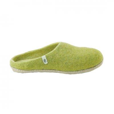 Slipper Lime Green (M:22-24cm)