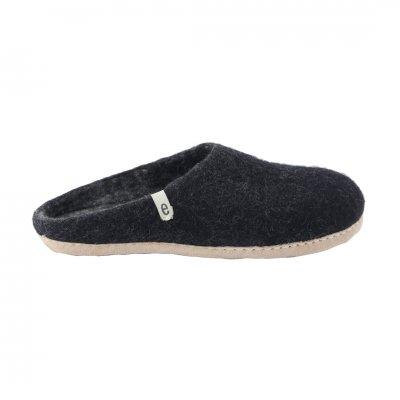 Slipper Black (M:22-24cm)