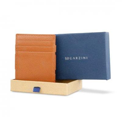 GARZINI (ガルジーニ) Essenziale Coin Pocket Brown
