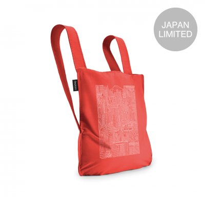 BAG & BACKPACK The Tokyo Notabag Red/White Print