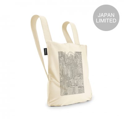 <img class='new_mark_img1' src='https://img.shop-pro.jp/img/new/icons1.gif' style='border:none;display:inline;margin:0px;padding:0px;width:auto;' />BAG & BACKPACK The Tokyo Notabag Raw/Black Print