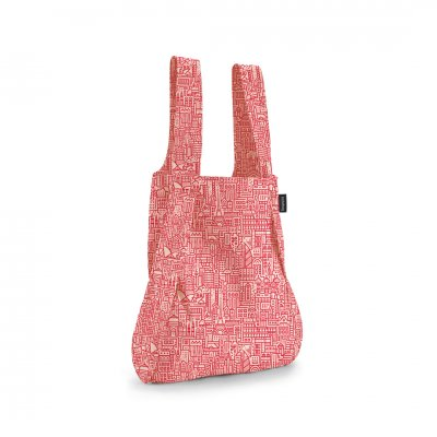 BAG & BACKPACK Notabag Hello World Rose/Red