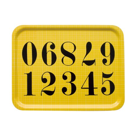 EAMES TRAY NUMBERS (ナンバー)