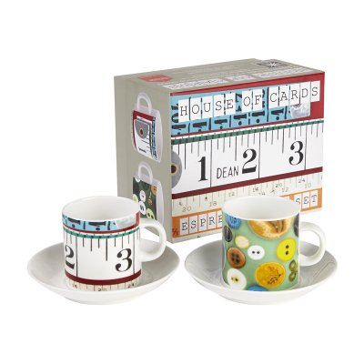 EAMES DOUBLE ESPRESSO GIFT SET Buttons & Tape Masures (ボタン&テープメジャー)