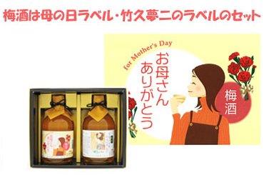 宮下酒造 母の日ギフトラベル 梅酒早春二本セット(送料込み)