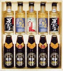 宮下酒造 地酒・地焼酎・地ビール バラエティセット