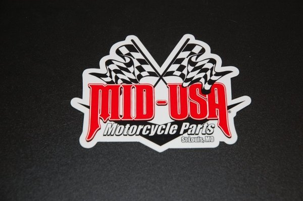 MID-USA オリジナルステッカー