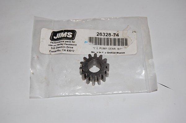 JIMS オイルポンプ フィード ドライブギア 1941-91