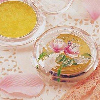 薔薇の練香水・コンパクト型