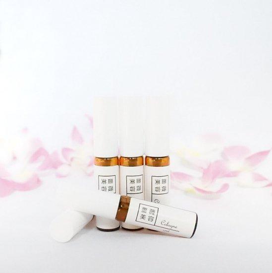 オーデコロン ばらの香り ミニ携帯スプレー  5ml
