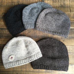 ウールニット帽