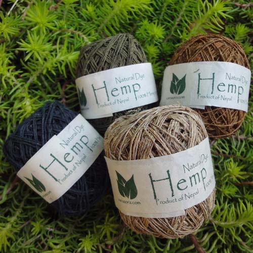 手紡ぎHemp 糸【2012】