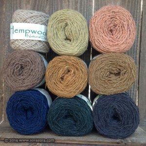 草木染めHemp Wool 毛糸 【2014】
