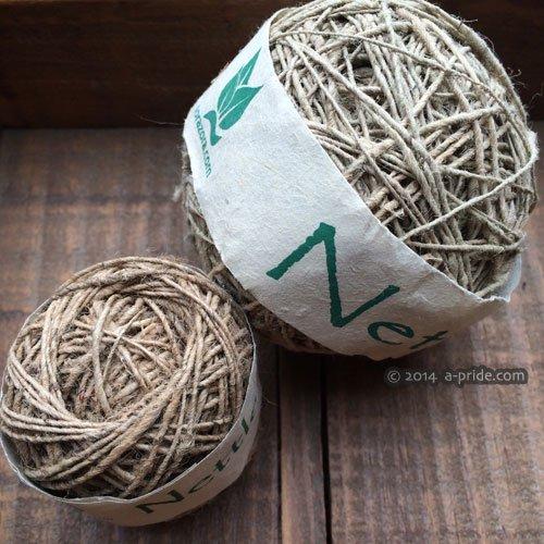 手紡ぎNettle(ネトル) 糸
