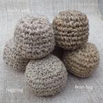 かぎ編みジャグリングボール