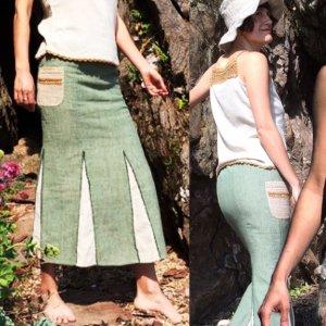 Mossy ロングスカート
