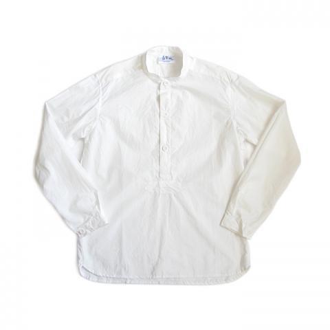 Yarmo(ヤーモ)プルオーバーシャツ(オフホワイト)