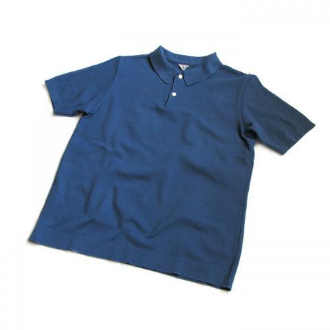 FilMelange(フィルメランジェ) 「AMIS」 ポロシャツ(ブルーラグーン)