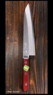 恒久 Tsunehisa 牛刀包丁(180mm)青紙スーパー鋼 ステン割込 洋柄 口金なし