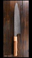 【小林包丁】 牛刀包丁 (210mm)SG2鋼 ダマスカス モラド八角柄