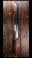 【弥氏 良寛】 先丸柳刃 (330mm) 蛸引 白紙鋼 紫檀八角          ☆難ありSALE品☆