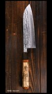 増谷 訓生 Kunio Masutani 三徳包丁165mm VG1 鍛造 UNIQUE design