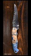 黒崎 優 Yu Kurosaki 鍛造ナイフ 【雫4型】 SG2粉末ハイス鋼 スタビライズドウッド柄