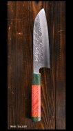 黒崎 真 Makoto Kurosaki 三徳包丁 SG2 クロス槌目 UNIQUE design 1