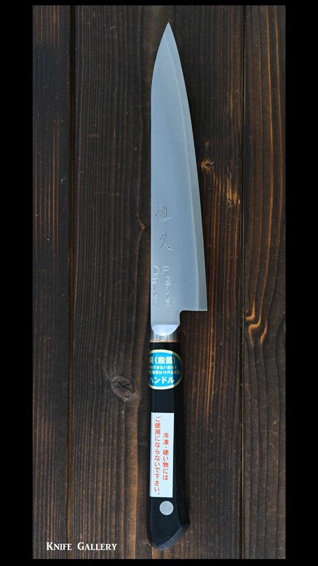 ペティナイフ150mm ステンレスVG1鋼 合板柄銅入  崇行