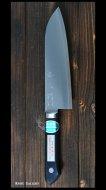 三徳包丁 165mm VG1鋼 銅入合板柄 恒久