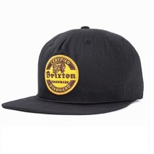 <img class='new_mark_img1' src='//img.shop-pro.jp/img/new/icons11.gif' style='border:none;display:inline;margin:0px;padding:0px;width:auto;' />BRIXTON (ブリクストン) SOTO SNAPBACK / BLACK