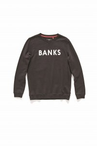 <img class='new_mark_img1' src='//img.shop-pro.jp/img/new/icons50.gif' style='border:none;display:inline;margin:0px;padding:0px;width:auto;' />BANKS (バンクス) CLASSIC FLEECE/ DIRTY BLACK