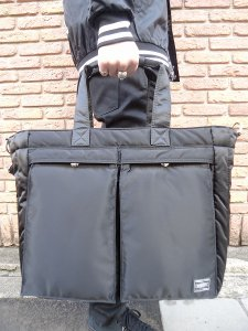 【残り1点】WACKO MARIA (ワコマリア) 2WAY 12inch RECORD TOTE BAG BLACK