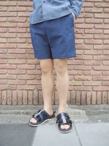 WACKO MARIA (ワコマリア) PLEATED SHORT TROUSERS (TYPE-2) (ショーツ) Indigo