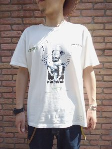 【残り1点】WACKO MARIA (ワコマリア)LEE PERRY CREW NECK T-SHIRT(TYPE-14) (Tシャツ) White