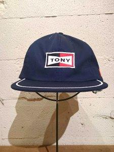 TONY TAIZSUN (トニータイズサン) SNAP BACK CAP (キャップ) NAVY