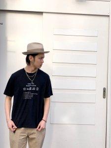 JAPAN BLUE JEANS (ジャパンブルージーンズ) Attention TEE ブラック