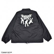 RAPTEES(ラップティーズ) TOMMY BOY LOGO COACH JACKET (トミーボーイコーチジャケット) BLACK