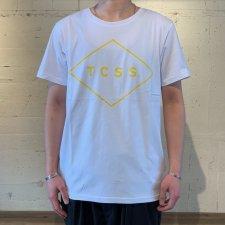 TCSS (ティーシーエスエス) STANDARD TEE (ロゴプリントTEE) WHITE