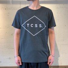 TCSS (ティーシーエスエス) STANDARD TEE (ロゴプリントTEE) PHANTOM