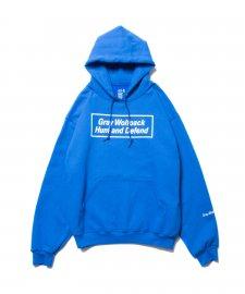 ROTTWEILER (ロットワイラー)BOX Hunt and Defend Parka(プルオーバーパーカー) BLUE