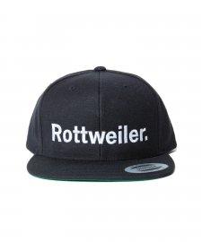ROTTWEILER (ロットワイラー)ROTTWEILER. Snapback(キャップ) BLACK