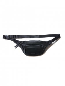 COOTIE (クーティー) Leather Waist Pack (レザーウエストバック) Black