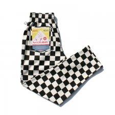 CookMan (クックマン) Chef Pants Checker (シェフパンツ チェッカー) BLACK