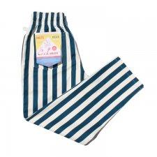 CookMan (クックマン) Chef Pants Wide stripe (シェフパンツ ワイドストライプ) NAVY