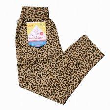 CookMan (クックマン) Chef Pants Leopard (シェフパンツ レオパード) BEIGE
