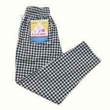 【残り1点】CookMan (クックマン) Chef Pants Big Cidori (シェフパンツ ビックチドリ) BLACK